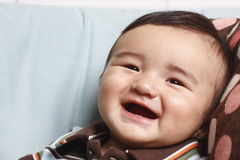 Baby boy smiling Stock Photography