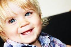 Baby boy smiling Royalty Free Stock Photos