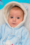 Baby boy smiling Royalty Free Stock Image