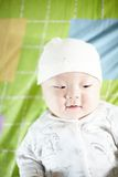 Baby boy smiling Stock Photo
