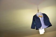 Baby boy suit Stock Photos