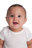 Baby Boy with a Surprised Expression Royalty Free Stock Photography