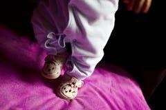 Baby boy walking Royalty Free Stock Photos
