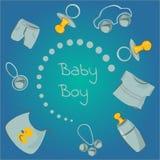 Baby boys royalty free illustration