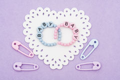 Baby Bracelets Stock Photos