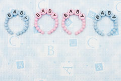 Baby Bracelets Stock Images