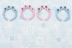 Baby Bracelets Stock Images