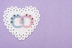 Baby Bracelets Stock Image