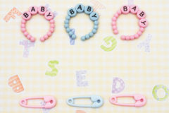 Baby Bracelets Royalty Free Stock Photography