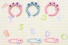 Baby Bracelets Royalty Free Stock Photography