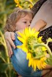 Baby breastfeeding Royalty Free Stock Photos
