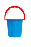 Baby bucket isolated Royalty Free Stock Photo