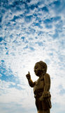 Baby buddha Royalty Free Stock Image