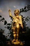 Baby Buddha. Golden Baby Buddha royalty free stock photography