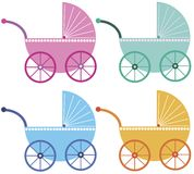 baby buggies Royalty Free Stock Images