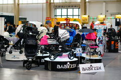 Baby buggies Royalty Free Stock Photos