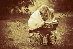 Baby buggy Royalty Free Stock Photos