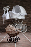 Baby buggy. Historical baby buggy waiting for children Stock Photography