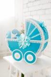 Baby buggy handmade Royalty Free Stock Image