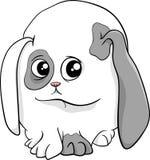 Baby bunny cartoon illustration Royalty Free Stock Photos