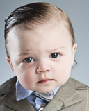 Baby Businessman Royalty Free Stock Photo