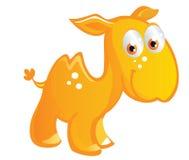 Baby camel cartoon Royalty Free Stock Photo