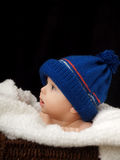 Baby with cap Stock Photo