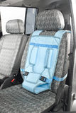 A baby car seat Royalty Free Stock Images