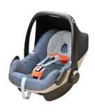 Baby car seat Royalty Free Stock Photo