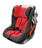 Baby car seat Stock Photography