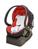 Baby car seat Stock Image
