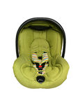 Baby car seat isolated Stock Images