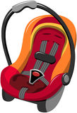 Baby Car Seat Isolated Royalty Free Stock Images