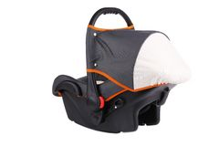 Baby car seat. Stock Photo