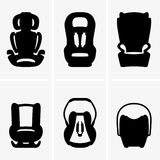 Baby car seats Stock Image