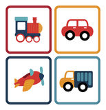 Baby car toys Stock Photography