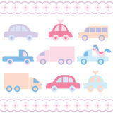 Baby car toys Stock Photo
