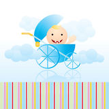 Baby card Stock Images