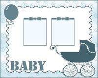 Baby card Royalty Free Stock Photos