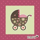 Baby card Stock Photography