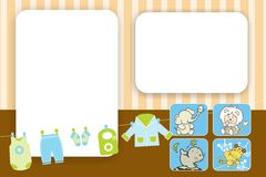 Baby Card Stock Image