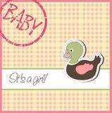 Baby card Royalty Free Stock Photo