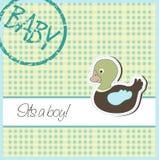 Baby card Stock Photo