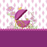 Baby Card Background Royalty Free Stock Photos