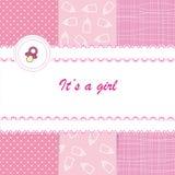 Baby card Royalty Free Stock Photos