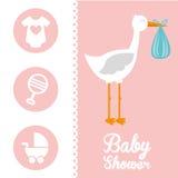 Baby card Stock Photos