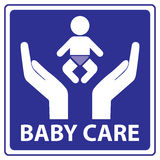 Baby care  Stock Image
