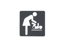Baby care room Royalty Free Stock Photography