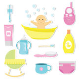 Baby care Stock Photography