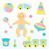 Baby care Royalty Free Stock Photos